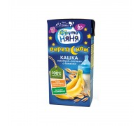 Кашка молочно–овсяная с бананом Фрутоняня 200 мл 6+ мес