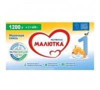 Сухая молочная смесь Малютка 1 ( до 6 месяцев) 1200 г