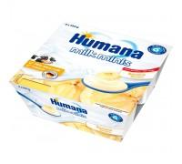Humana Йогурт Банан 6 мес+ 100 гр*4 шт