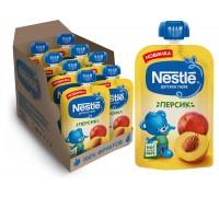 Пюре из персиков Nestle 90гр с 4 месяцев
