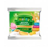 Печенье Heinz детское из 6 злаков, с 6 месяцев, 60г