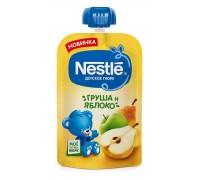 Пюре из яблок и груш Nestle 90гр с 5 месяцев