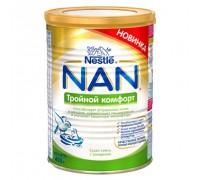 Cухая молочная смесь NAN тройной комфорт 400 г