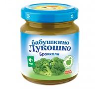 Пюре Бабушкино Лукошко Капуста брокколи 100 г 4+ мес