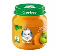 Пюре из яблок и тыквы Gerber 130 гр с 5 месяцев