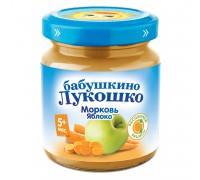 Пюре Бабушкино Лукошко морковь-яблоко 100 г 5+ мес