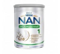 Cухая молочная смесь NAN 1 кисломолочный, с рождения, 400 г