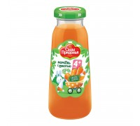 Сок Сады Придонья  морковь 0,2 л с 4 мес стекло