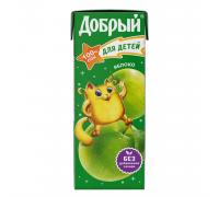Сок Добрый яблоко 0.2л с 4 месяцев