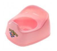 Горшок детский Пластишка цвет розовый
