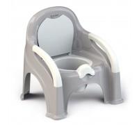 Горшок-стульчик  Olsson съемная чаша серый 6мес+